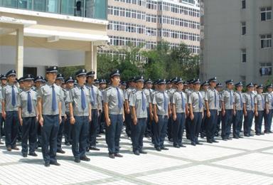 国威保安团队风采